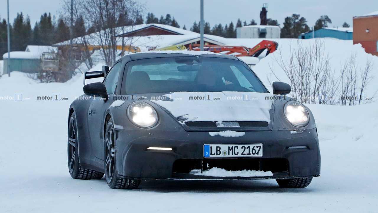 曝全新保時捷911 GT3最新諜照 或 9月亮相/動力更強
