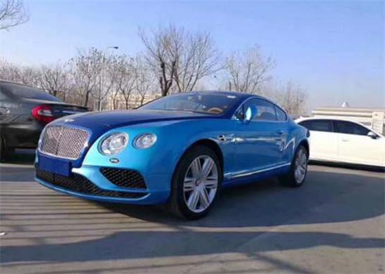 进口18款宾利欧陆GT 时尚轿跑津港专卖
