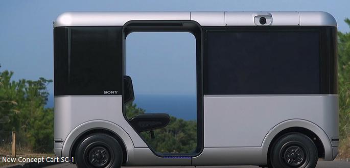 并购合作,黑科技,前瞻技术,自动驾驶,索尼无人驾驶,索尼自动驾驶,索尼DOCOMO,索尼5G,汽车新技术