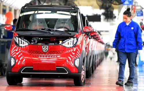 """媒体:在电动车领域 中国""""甩他国一条街"""""""
