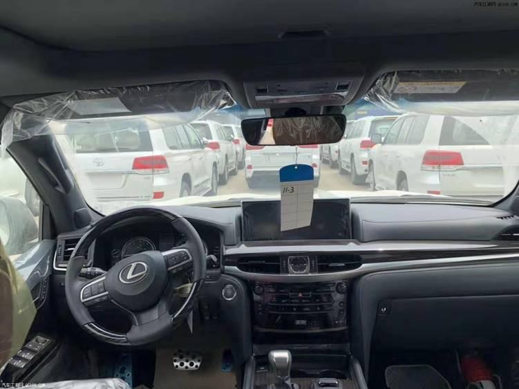 18款雷克萨斯LX570现车顶配最新报价