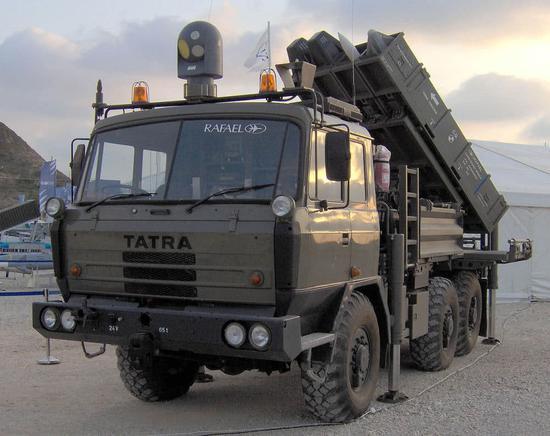 以色列SPYDER防空导弹