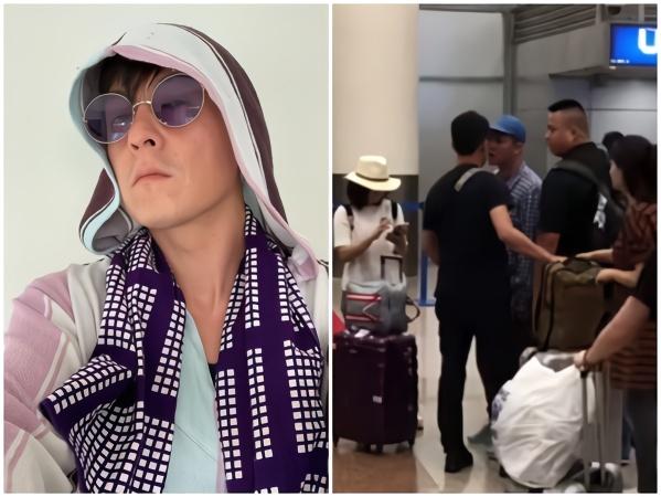 陳冠希機場遭偷拍發飆引圍觀 疑似被主播故意激怒