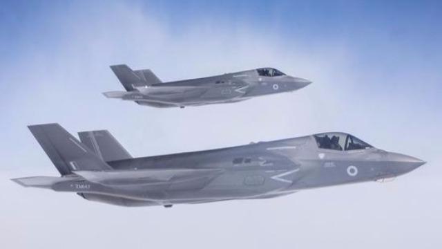 中国公司为英国制造F35战机?英军方回应了