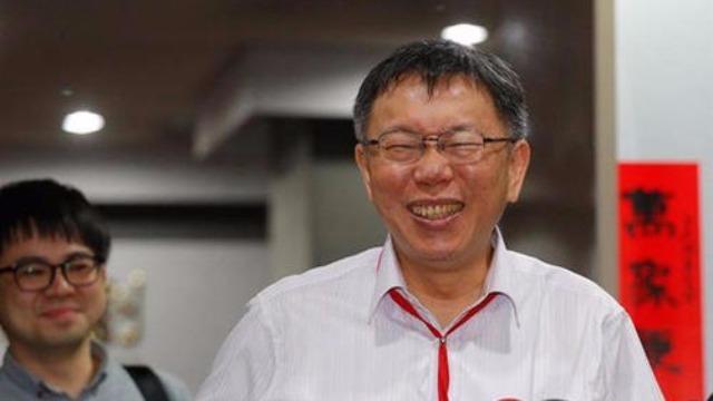 """民进党主席不接受""""两岸一家亲"""" 柯文哲回应亮了"""