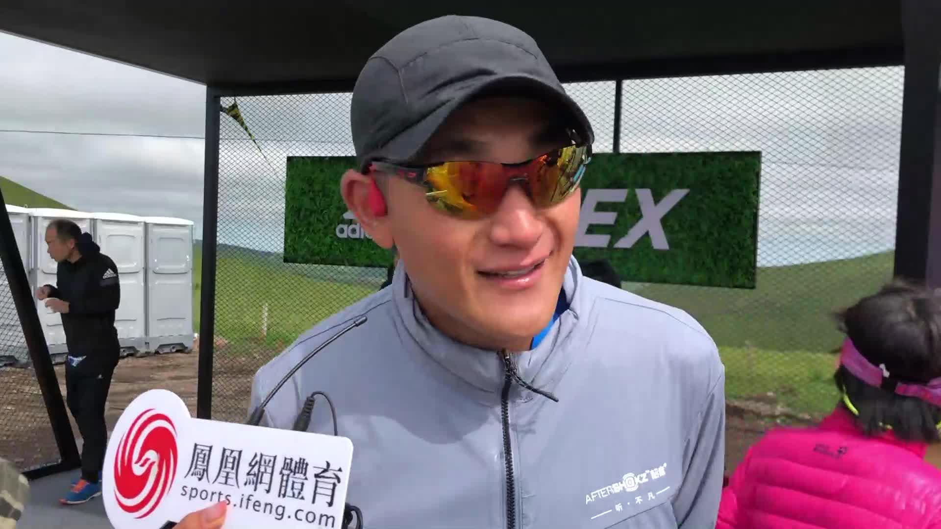 视频- 陈刚 韶音战队第六棒冲线
