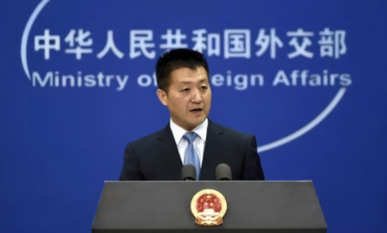 英国首相离任前提及香港问题 陆慷:请醒一醒