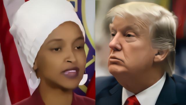 特朗普发表涉种族歧视言论 有色女议员:弹劾他!