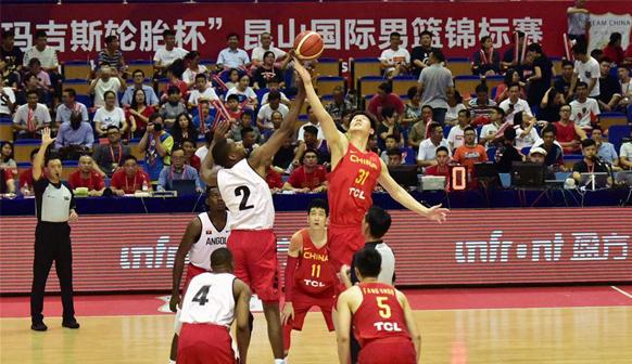 国际男篮锦标赛中国队夺