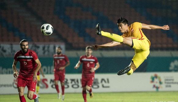 中国U23男足完胜叙利亚队提前锁定小组出线权