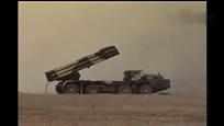 俄罗斯100毫米火箭炮集火射击这场面真够震撼的