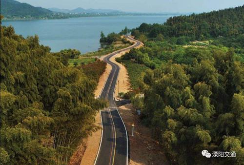 """军事资讯_""""溧阳1号公路"""":打造365公里长的""""生态珠链""""_江苏频道_凤凰网"""