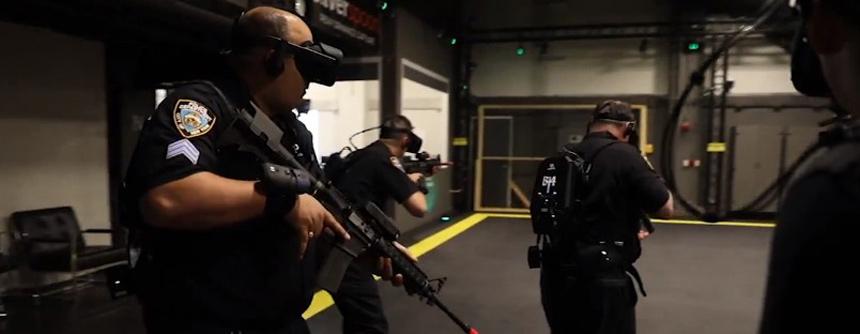 用VR游戏模拟枪击防治训练 纽约警察:太真实了