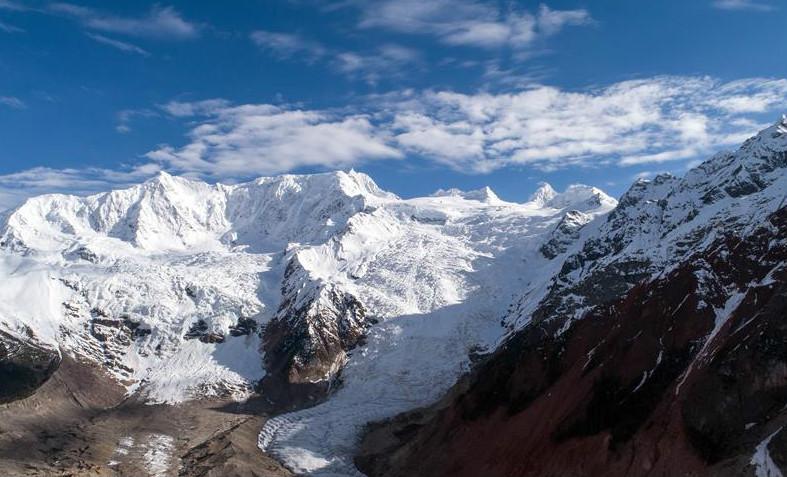 西藏波密:米堆冰川引游人