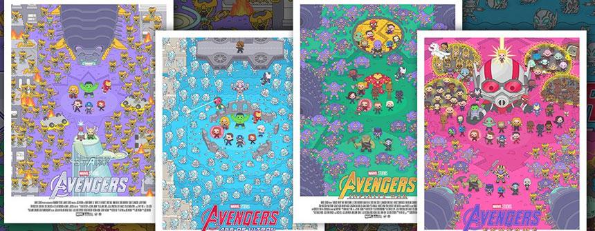 圣地亚哥动漫展 漫威发布《复仇者联盟》主题海报