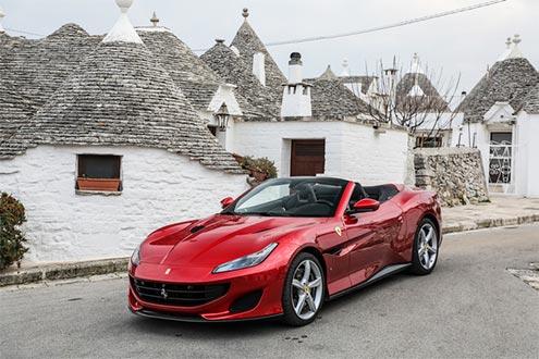法拉利Portofino:这是富一代的理想座驾