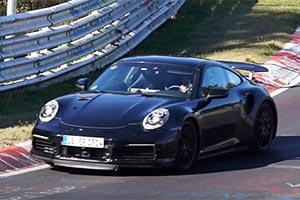 2020款保时捷911 Turbo曝光 或年底前发布