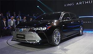一汽丰田亚洲龙正式发布 明年3月上市