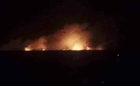 乌克兰一大型军火库发生爆炸 当局疏散人群
